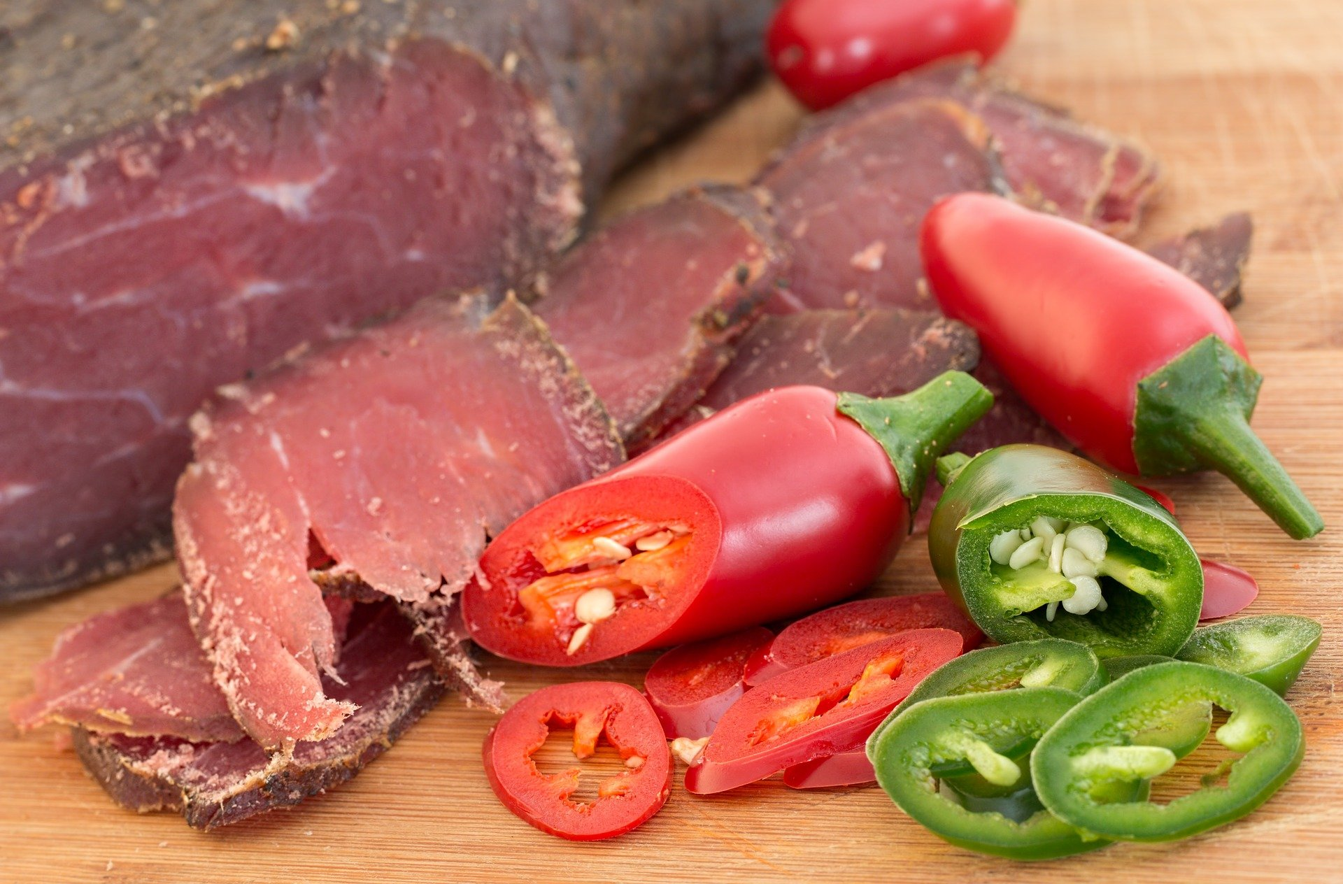 viande séchée