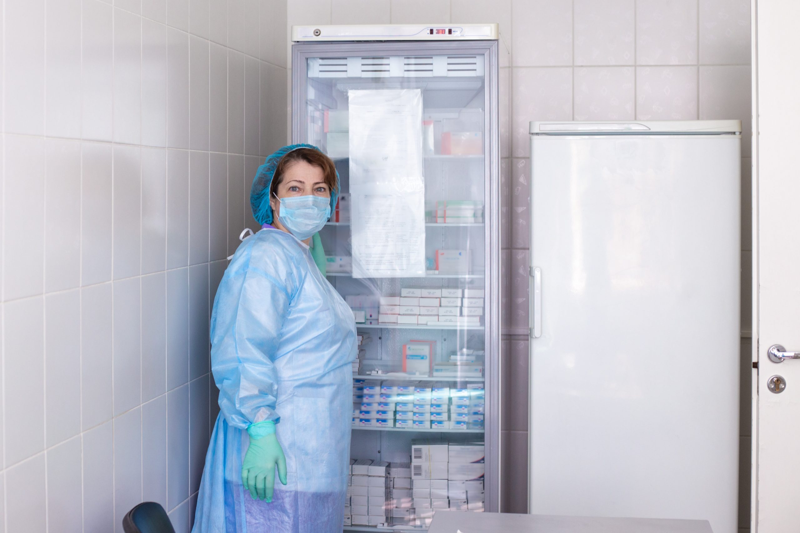 réfrigérateurs dans le secteur de la santé